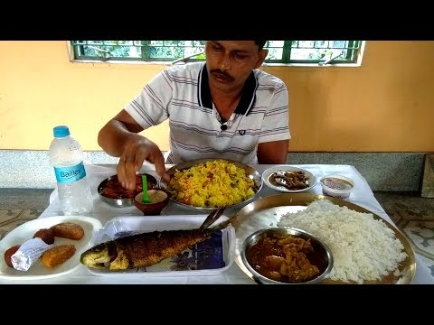 I had a lot of lunch today   Big Fish Fry   Duck Meat Curry   Chili Chicken   Elephant Apple Chutney