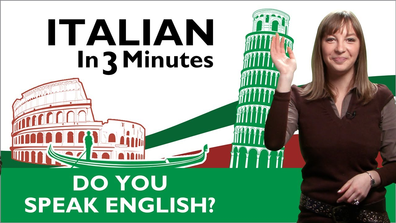 English In Italian: Excuse Me, Do You Speak English?