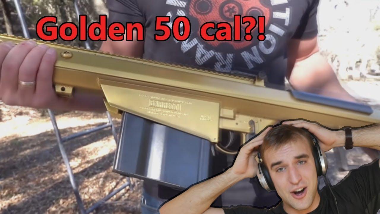 Demolition Matt has a Golden 50cal?!