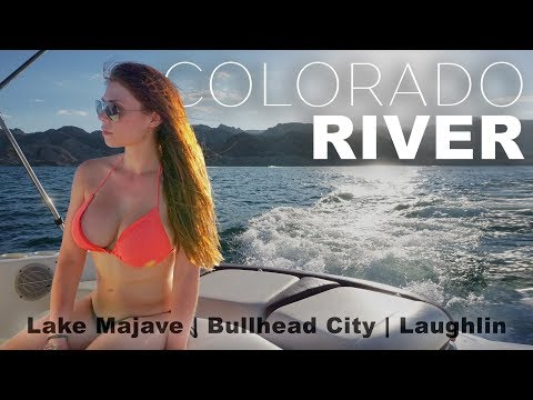 Colorado River / Lake Mojave Boating & Wakeboarding Vacation / GoPro & DJI Phantom 2.7k Travel Video