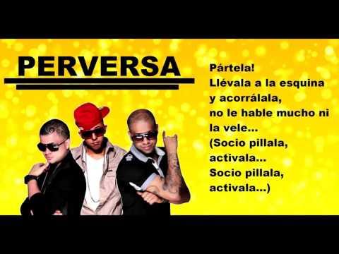 Trebol Clan - Perversa feat. Jowell & Randy (Lyric Video)