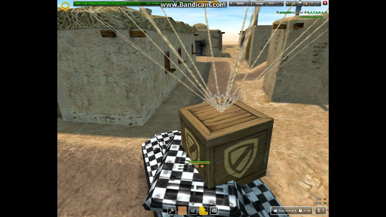 Tanki Online - D_A_T_U_N_A_12  GamePlay #2