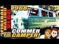 1968 Commer Vintage Camper Van   Fireball Malibu Vlog 779