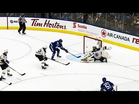 Patrick Marleau tips in OT winner against Bruins