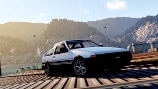 Forza Horizon 2: Drift Build - Toyota Sprinter Trueno (AE86)