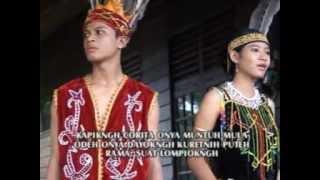 Domamankng Ngan Domia, Lagu Daerah, Dayak Sanggau, Kalimantan Barat