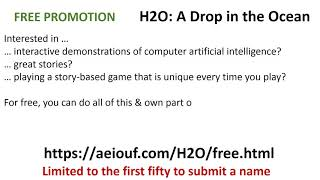 Promotion H2O: A Drop in the Ocean