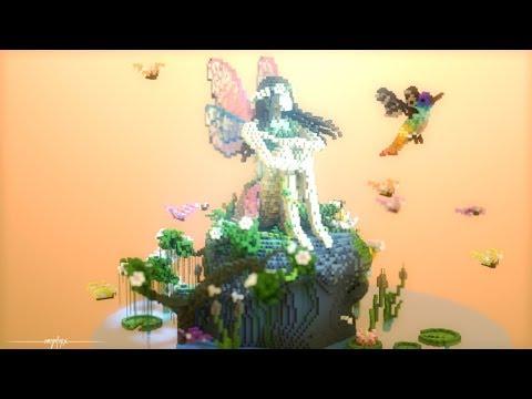 Spring Awakening | Fairy Organic | Minecraft Build Timelapse