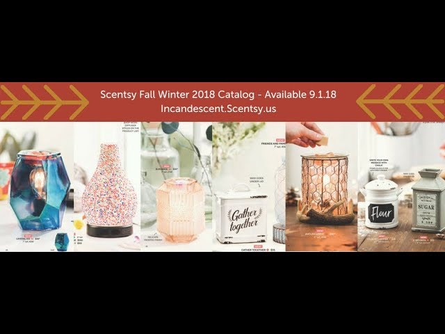f3a4ed95c63 Scentsy Fall Winter 2018 2019 Catalog Reveal - YouTube