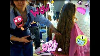 Опять обрезали волосы!!!!!!!!!!!/ Встреча с подписчиками