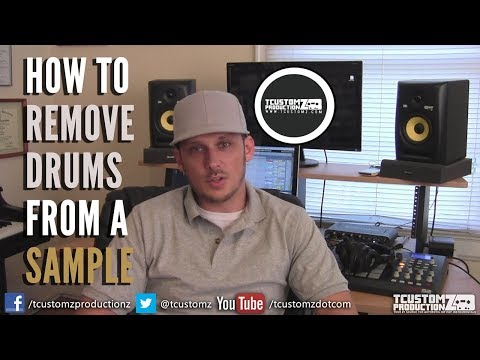 How To Remove Drums From a Sample | Sampling & Hip Hop Music Production Tips