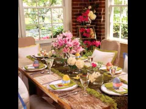 Easter Sunday Dinner Decorations Ideas Youtube