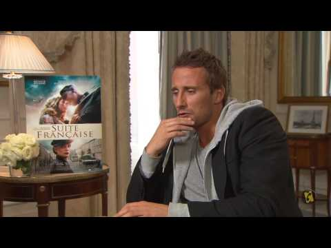 AlloCiné Interviews Matthias Schoenaerts and Saul Dibb - Suite Française (2015)