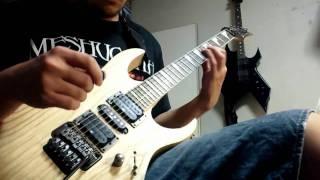 Death - Lack Of Comprehension (guitar cover)