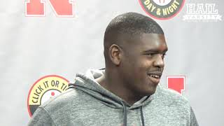 Nebraska Football: OL Jerald Foster on Adrian Martinez, Confidence and More