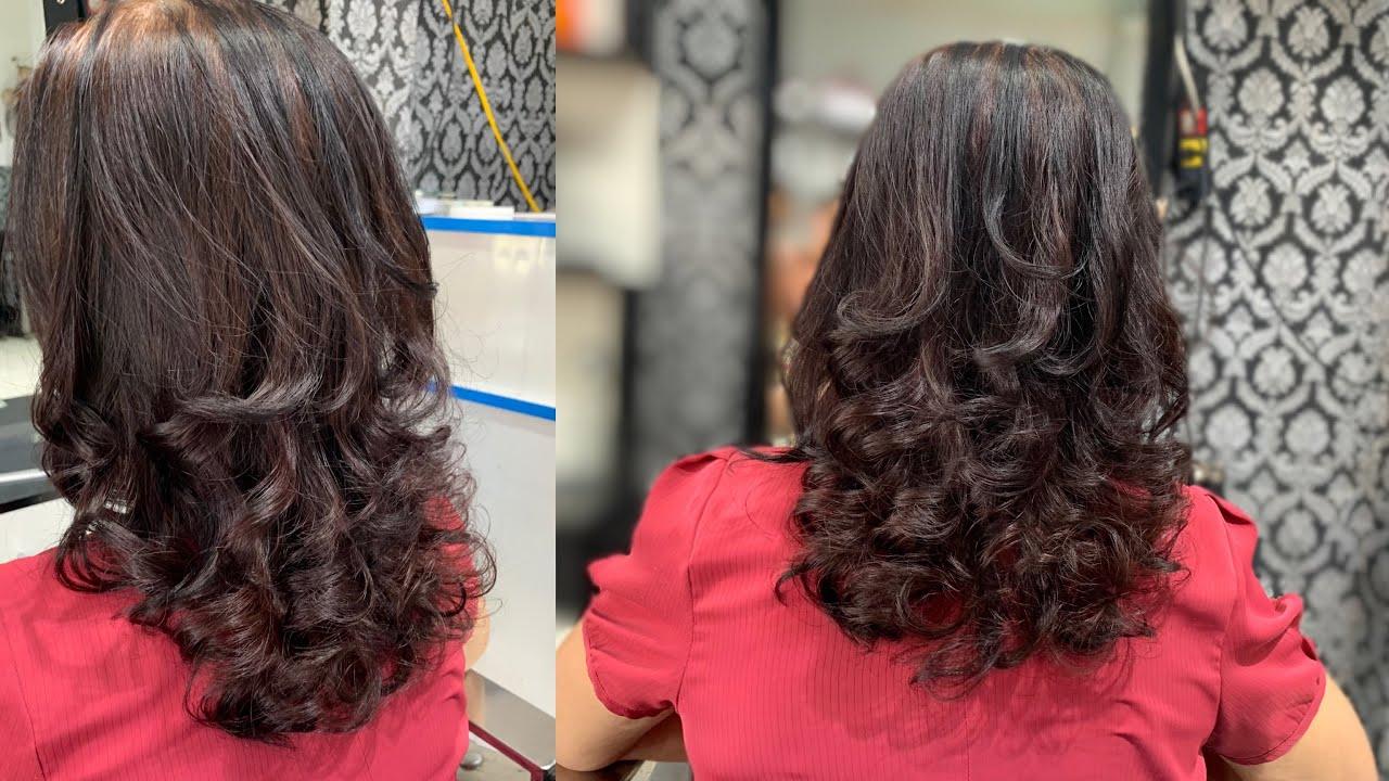Hướng dẫn uốn xoăn cho người trung tuổi , nền tóc bạc 100%   Quang Saker   Tổng hợp những kiểu tóc nữ đẹp mới nhất