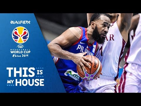 Philippines v Qatar  Highlights  FIBA Basketball World Cup 2019  Asian Qualifiers