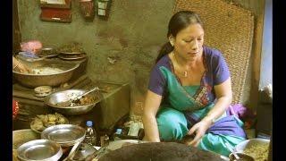 Best Egg Keema Bara in Patan Honacha | Patties Made with Lentil Flour - Food Nepal