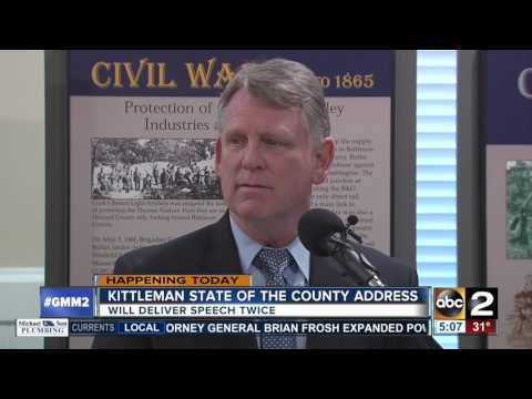 Howard County Executive to deliver State of the County address