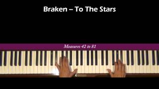 Braken To The Stars Piano Tutorial