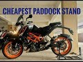 CHEAPEST PADDOCK STAND IN INDIA   PAN INDIA DELIVERY