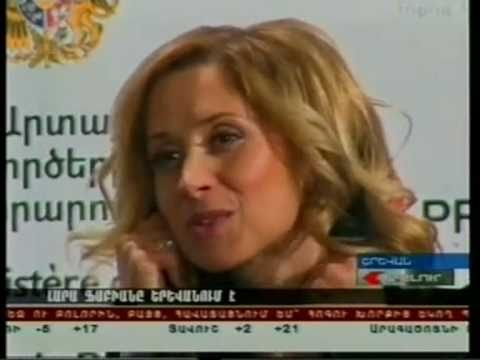 Lara Fabian Interview (Armenia, Yerevan -17.03.2011)