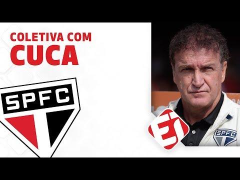 COLETIVA DO TÉCNICO CUCA AO VIVO - CORINTHIANS 1 X 0 SÃO PAULO - 26/05/2019