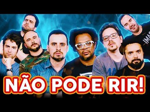 NÃO PODE RIR! com OS TRÊS TERRORES (Marcelo Marrom, Dinho Machado e Bruno Romano) e Diogo Portugal