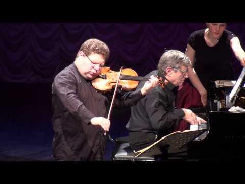 Ilya Konovalov, violin (Israel) Mark Shaviner, piano (Israel)