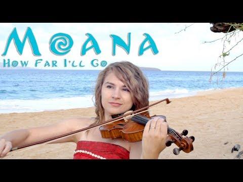 How Far I'll Go (Disney's Moana) Violin Cover- Taylor Davis