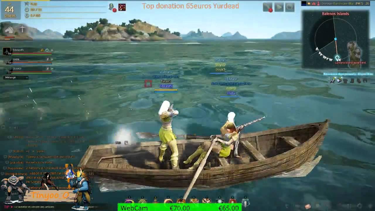 bateau de peche black desert online