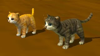 СИМУЛЯТОР Маленького КОТЕНКА #15 кошка родила много котят / Веселое видео для детей #ПУРУМЧАТА