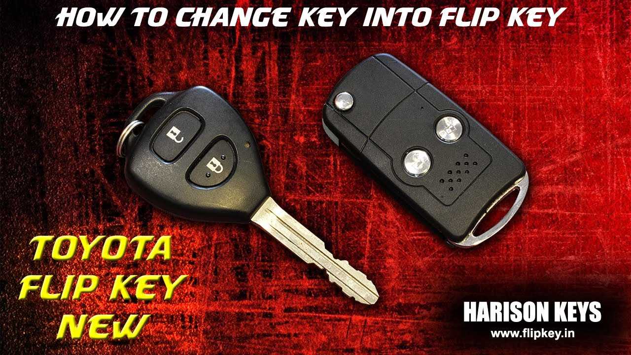Flip Key Grand New Avanza Tank Cover Toyota Youtube
