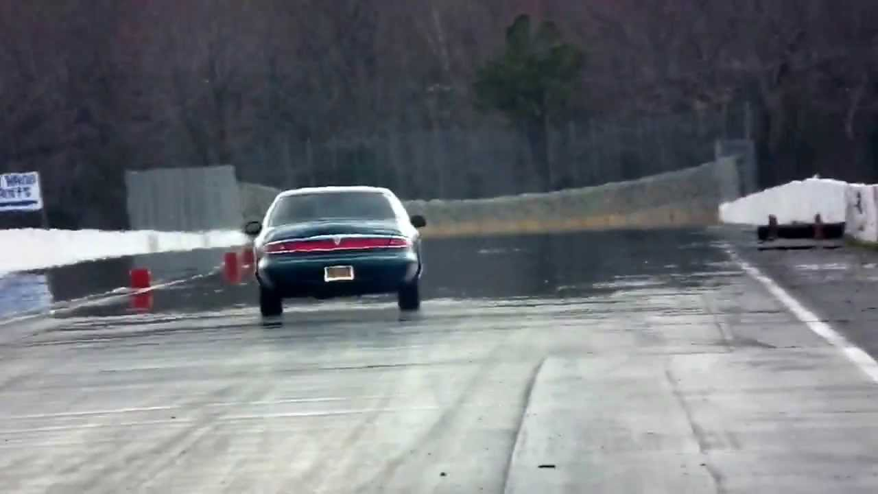 My Lincoln Mark Viii At The Drag Strip Youtube