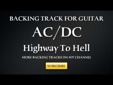 Pista Backing   ACDC HIGHWAY TO HELL con voz