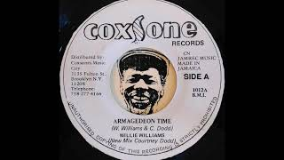WILLIE WILLIAMS - Armagedeon Time