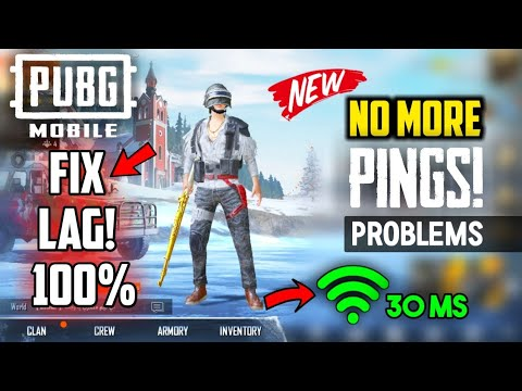 (New 2019)HOW TO FIX LAG IN PUBG MOBILE |GET 30MS PINGS ON PUBG MOBILE  Secret Tricks To Fix Lag PUBG