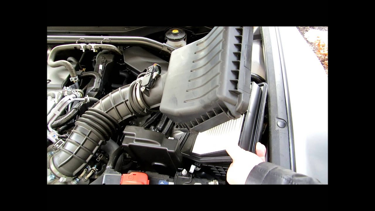 How To Replace Engine Filter On Acura TSX YouTube - Acura tsx air filter