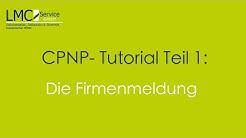 CPNP Firmenmeldung | Erste Schritte im Online-Portal