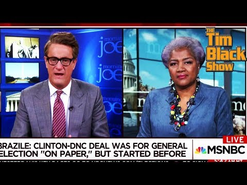 "Donna Brazile On Morning Joe ""Clinton Camp Was Like A Cult"""