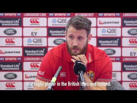 Press Conference: Seymour living the dream with Lions   Lions NZ 2017