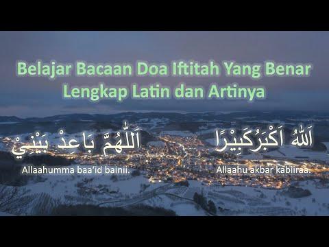 Bacaan Doa Iftitah Yang Benar