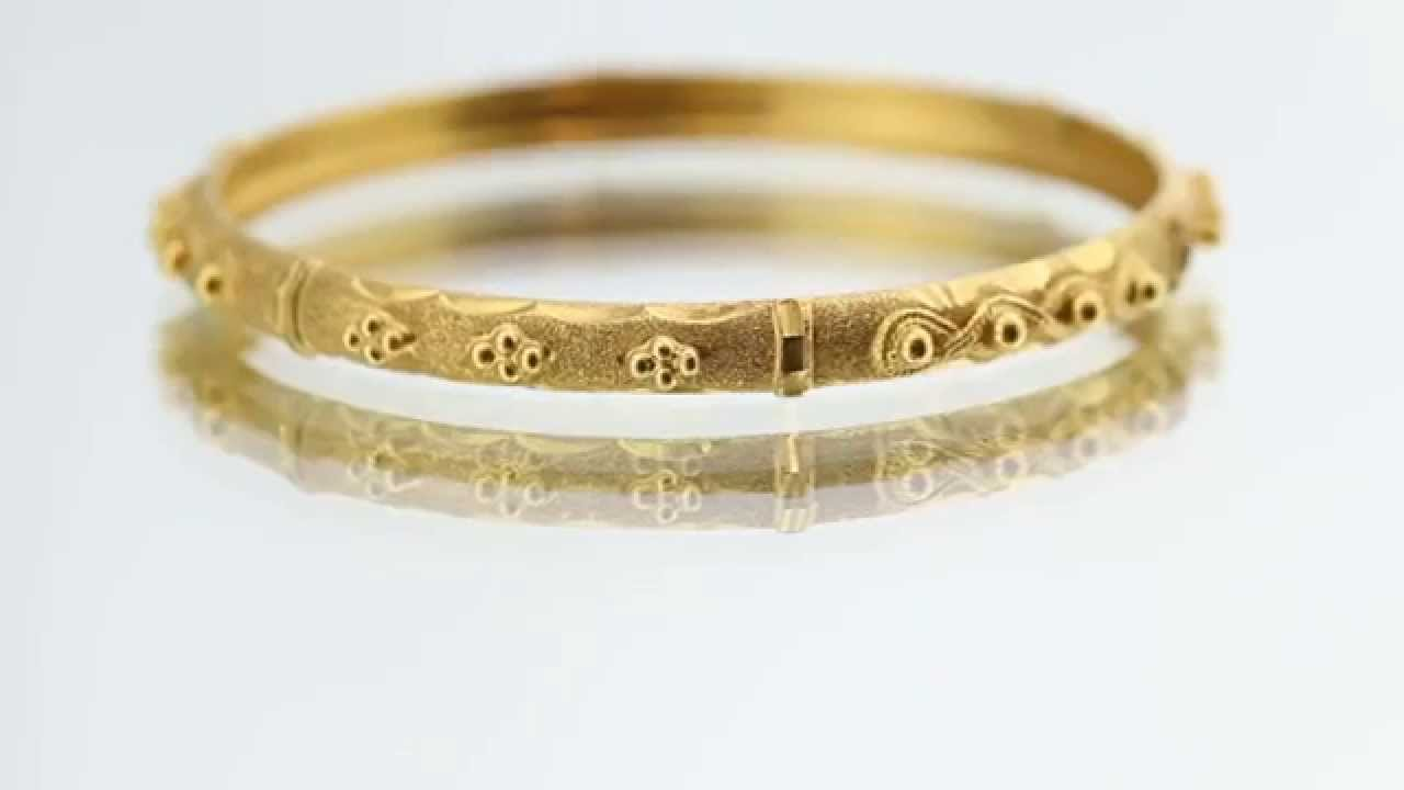 b online only jewellers bangles bangle gold yellow collections plain minar a bracelet price