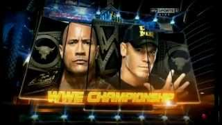 "WWE Wrestlemania29 Preview The Rock vs John Cena ""Letters From The Sky"""