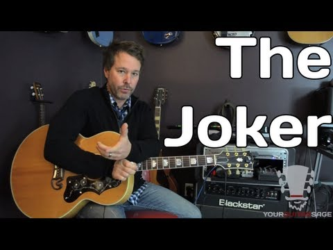 How to Play The Joker by The Steve Miller Band - Guitar Lesson