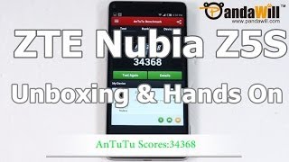 ZTE Nubia Z5S Unboxing & Hands On: Snapdragon 800 QuadCore CPU and 5-inch 1080P Gorilla Glass Screen