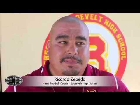 Ricardo Zepeda - Head Football Coach Roosevelt High School
