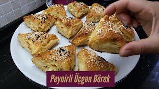 Peynirli Üçgen Börek Tarifi - Naciye Kesici - Yemek Tarifleri