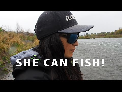 Her First Time..Fishing