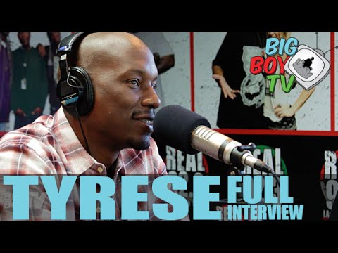 Tyrese FULL INTERVIEW | BigBoyTV